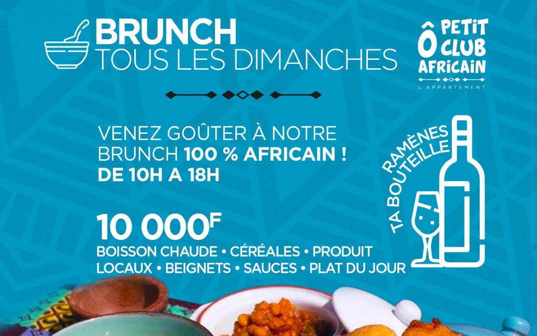 Dimanche Brunch O Petit Club Africain